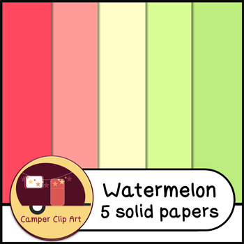 Watermelon Glitter Chevron and Solid Colors PAPERS {CU - ok!} Pinks & Greens