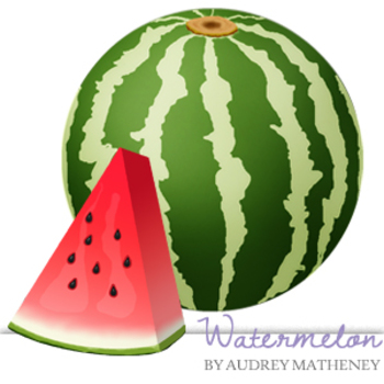 Watermelon {Graphics for Commercial Use}