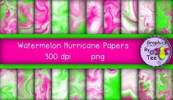 Watermelon Hurricane Papers