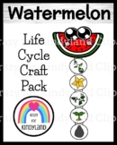 Watermelon Life Cycle Craft for Kindergarten
