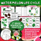 Watermelon Life Cycle | Student Reader | Science Activities and Centers