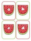 Watermelon Lowercase Flashcards