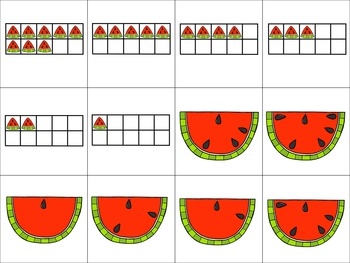 Watermelon Math Activities