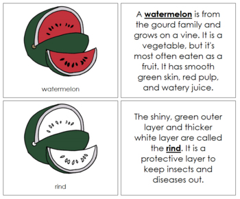 Watermelon Nomenclature Book