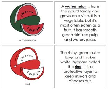 Watermelon Nomenclature Book (Red)