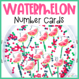 Watermelon Number Cards | 1-20