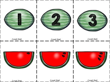 Watermelon Number Matching 1-10