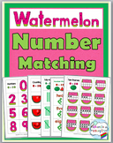 Summer Math Number Activities - Watermelon Theme