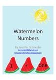 Watermelon Numbers