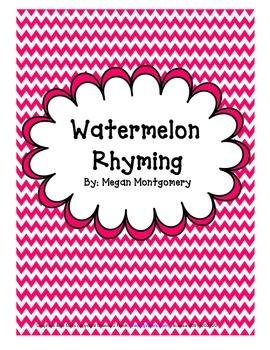 Watermelon Rhyming