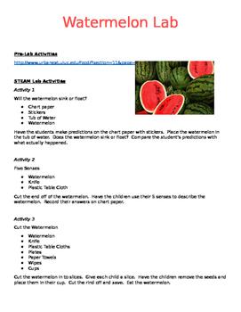 Watermelon STEAM/STEM Lab