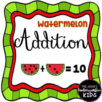 Watermelon Seed Addition