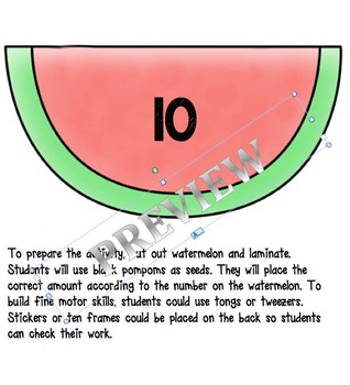 Watermelon Seed Counting 0-20