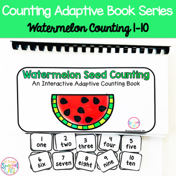 Watermelon Seed Counting Adaptive Book (#1-10)