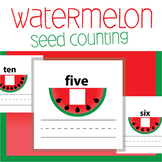 Watermelon Seed Counting Worksheet