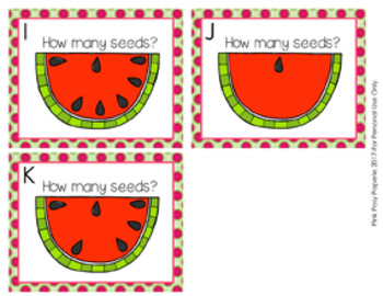 Watermelon Seeds Count the Room