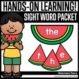 Watermelon Sight Word Packet