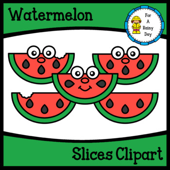 Watermelon Slices Clipart