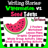 Watermelon Stories vs Seed Stories: Personal Narrative Lessons