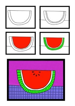 Watermelon Sub Art