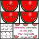 Watermelon Subitizing activity for whole class or small gr