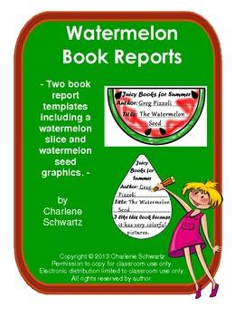 Watermelon Summer Book Reports