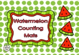 Watermelon - Summer Theme - Counting Mats 1-20