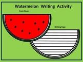 Watermelon Summer Writing Activity