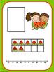 Watermelon Ten Frame Number Match  1-20