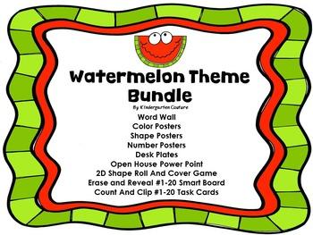 Watermelon Theme Bundle