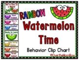 Watermelon Time | Rainbow | Behavior Clip Chart