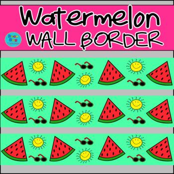 Watermelon Wall Border / Bulletin Board Display Border