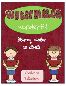Watermelon Wonderful Blends Center