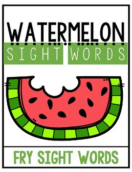 Watermelon Words (Set 2)