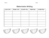 Watermelon Writing