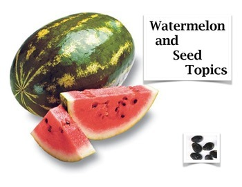 Watermelon and Seed Activity - Learning How to Narrow Topics