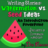Watermelon and Seed Ideas PowerPoint
