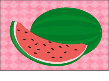 Watermelon Classroom Door Art