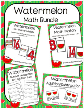 Watermelon math bundle
