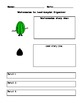 Watermelon to Seed Graphic Organizer Lucy Calkins Common Core Writing Workshop