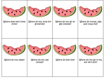 "Watermelon ""wh"" questions"