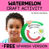 Easy Craft - Watermelon Life Cycle Activity