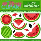 Watermelons Clip Art (Digital Use Ok!)