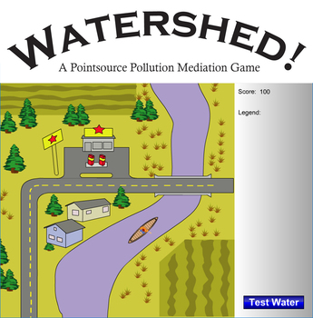 Watershed: A Point Source Pollution Mediation Game