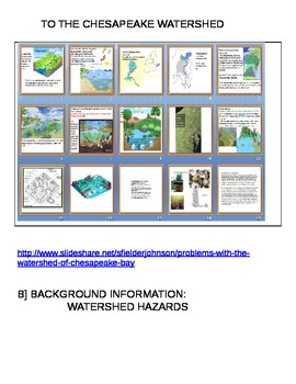 Watershed Unit Plan with Lessons on making a working model includes Chesapeake