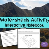 Watersheds Activity Interactive Notebook ( SC Science Standards-5th Grade)