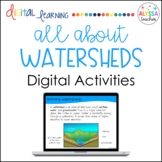 Watersheds Digital Activities in Google Slides™ - Distance