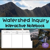 Watersheds Inquiry Activity Interactive Notebook