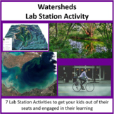 Watersheds - Lab Station Activity