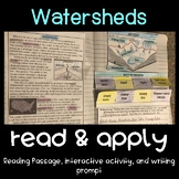 Watersheds Read and Apply